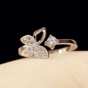 Full-Cubic-Zirconia-Butterfly-Open-Ring-Hypoallergenic-925-Sterling-Silver-Rings-For-Women-Party-Jewelry