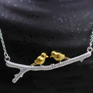 BIRD BRANCH NECKLACE