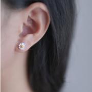 CUTE FLOWER STUD EARRINGS
