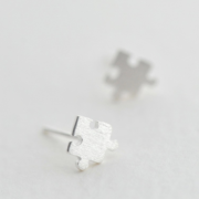 STERLING SILVER PUZZLE EARRINGS