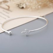 LEAF TRIO WRAP BANGLE