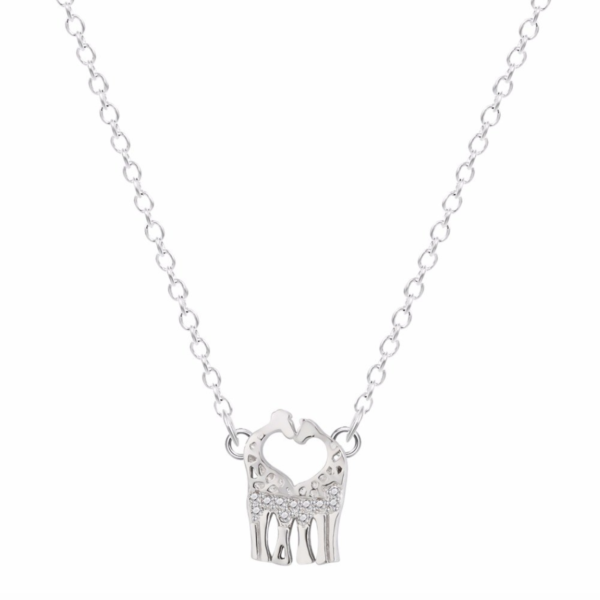 UNIQUE GIRAFFE PENDANT NECKLACE