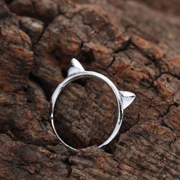 1pcs-gold-silver-plated-cute-cat-kitty-ring-for-women-handmade-jewelry-design